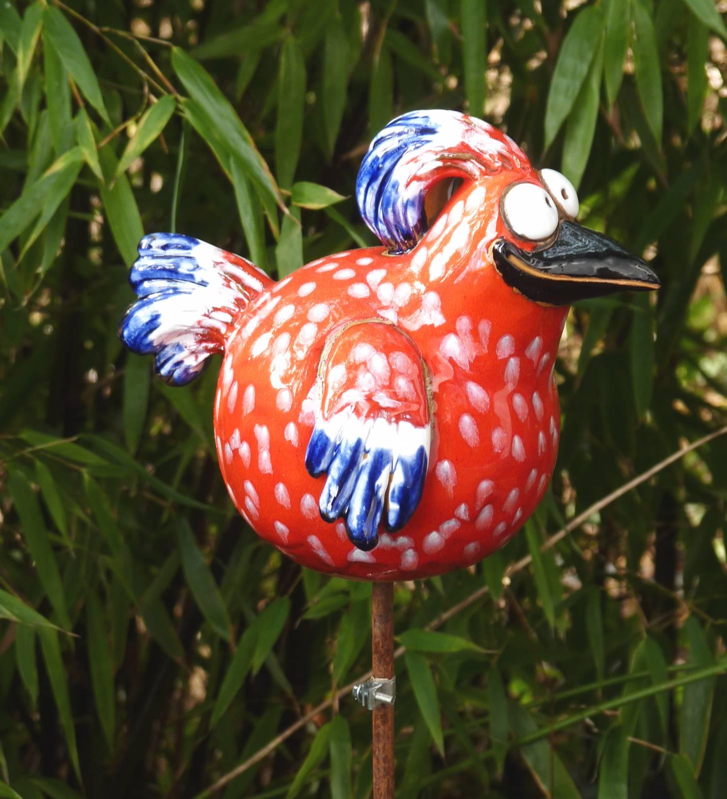 Frisch Gartendeko Vogel Design