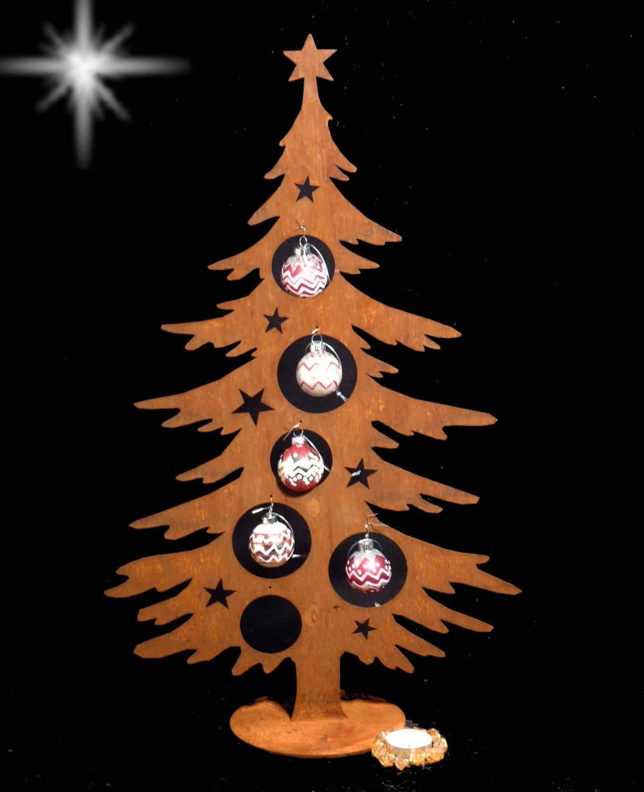 Tannenbaum Aus Blech.Details Zu Edelrost Rost Dekotanne Klein 60 Cm Metall Weihnachtsbaum Tannenbaum