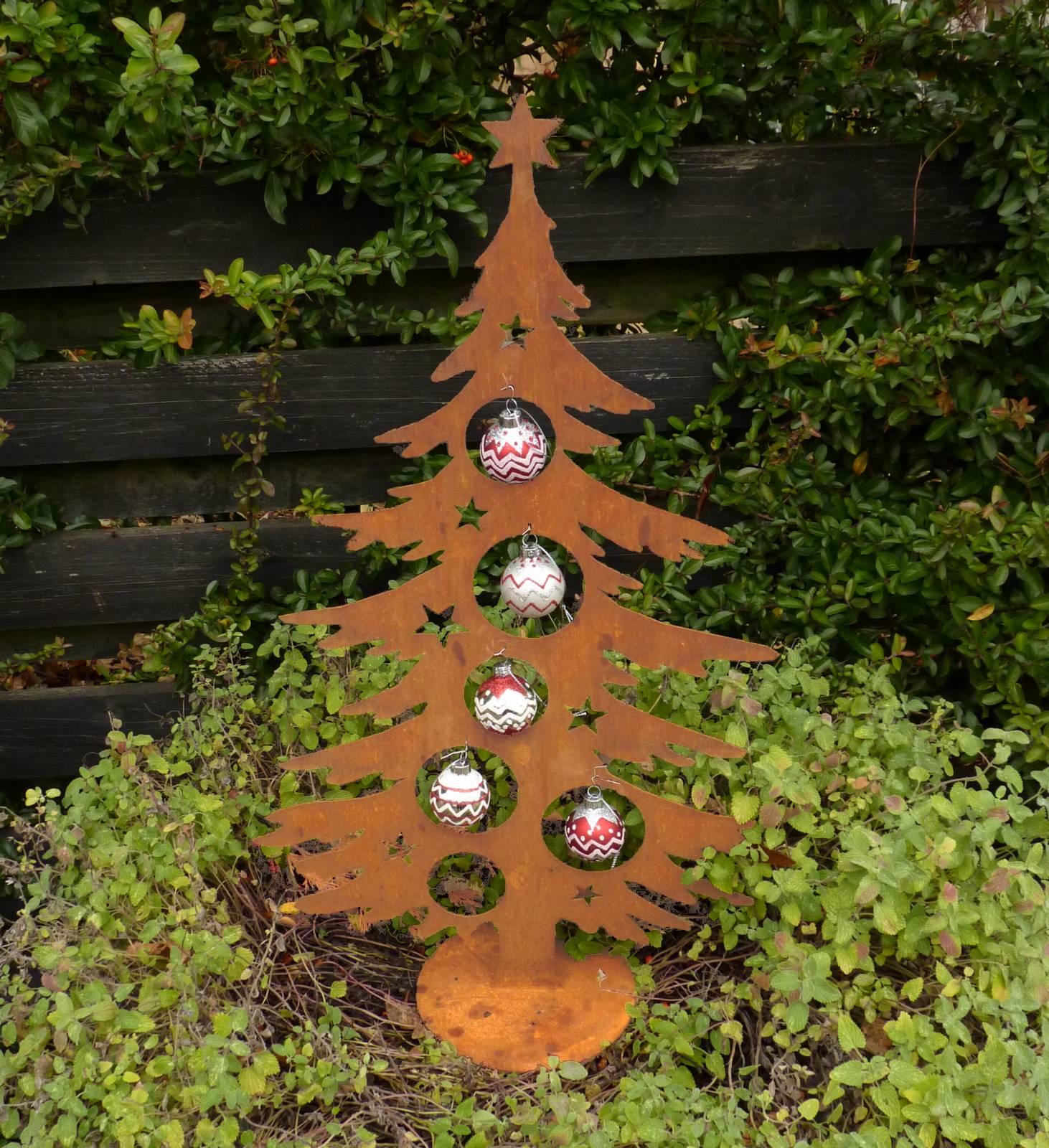 edelrost rost dekotanne klein 60 cm metall weihnachtsbaum. Black Bedroom Furniture Sets. Home Design Ideas