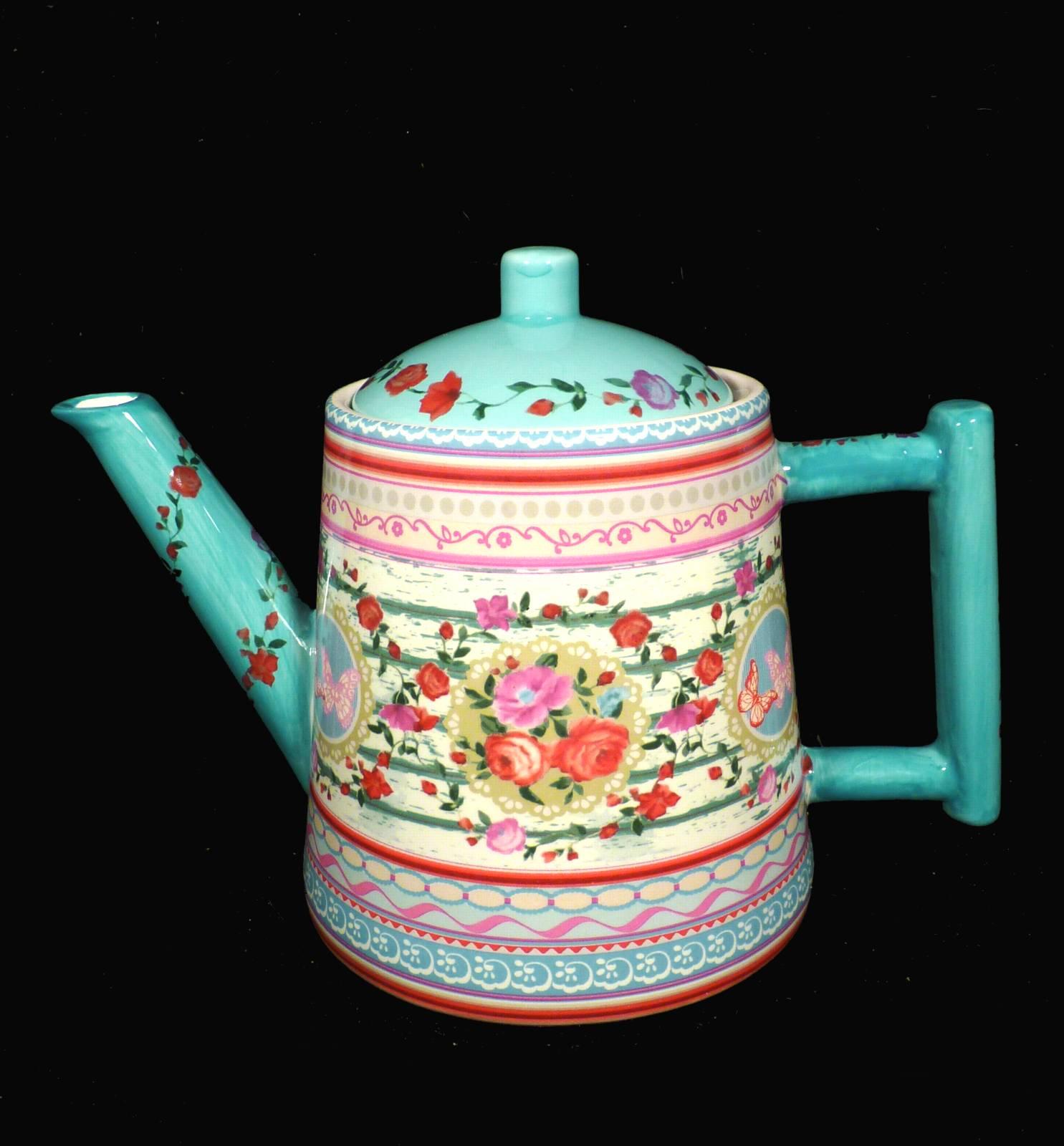 kaffeekanne teekanne kanne jameson tailor keramik design nostalgie 2 wahl ebay. Black Bedroom Furniture Sets. Home Design Ideas