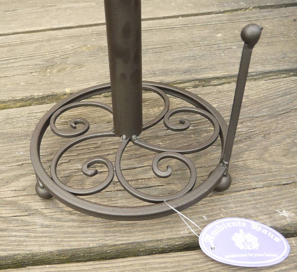 Küchenrollenhalter landhausstil Metall Rollenhalter | eBay
